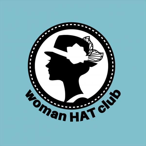 woman HAT clubのロゴの写真