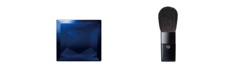 クレ・ド・ポー ボーテ ケース(ブラッシュデュオプードル)1種とクレ・ド・ポー ボーテ ブラシ(ブラッシュデュオプードル)1種の商品画像