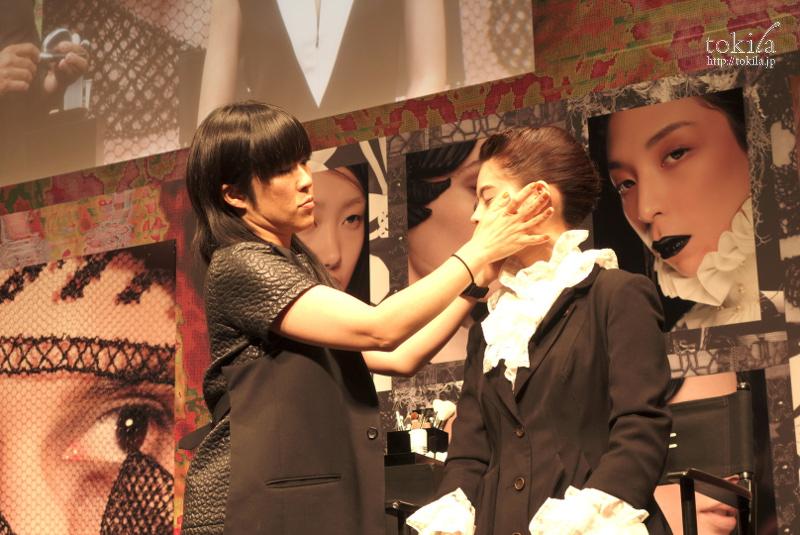 M・A・C2015AWトレンドプレゼンテーション 池田ハリス留美子 ライブステージ