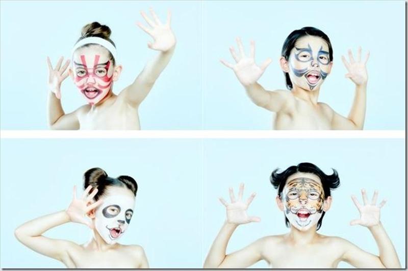 一心堂本舗 世界初の子供用パック 子供 歌舞伎フェイスパック 子供 動物フェイスパック