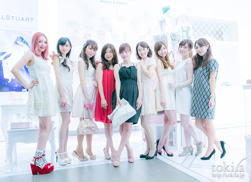 JILL STUART Beauty & Party参加読者