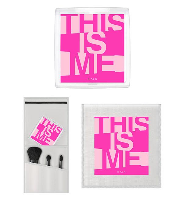 RMKコレクション「THIS IS ME」ケースとブラシ