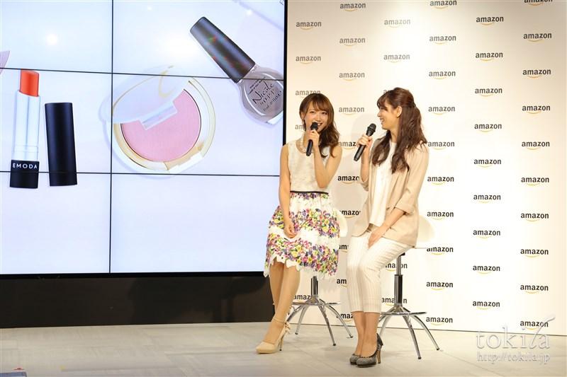 Amazonビューティーストアゲスト菅野結以さん小西さやかさんトークセッション4