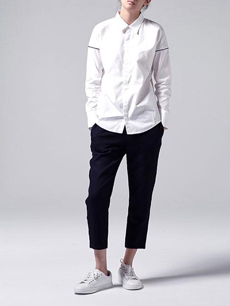 caart. 長袖Yシャツのモデル