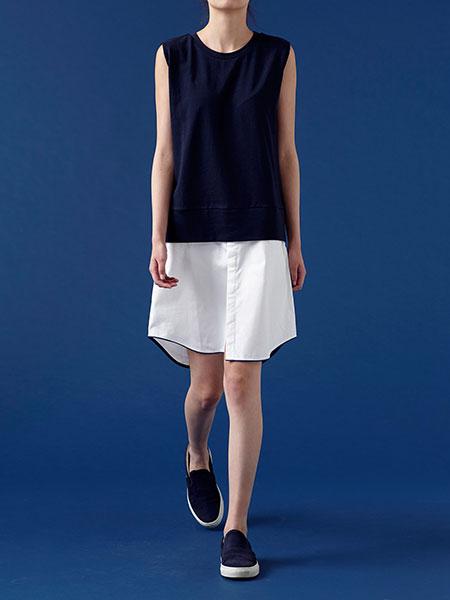 caart. シャツスカートのモデル