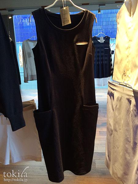caart. ミドルロング丈のジャージードレス展示品