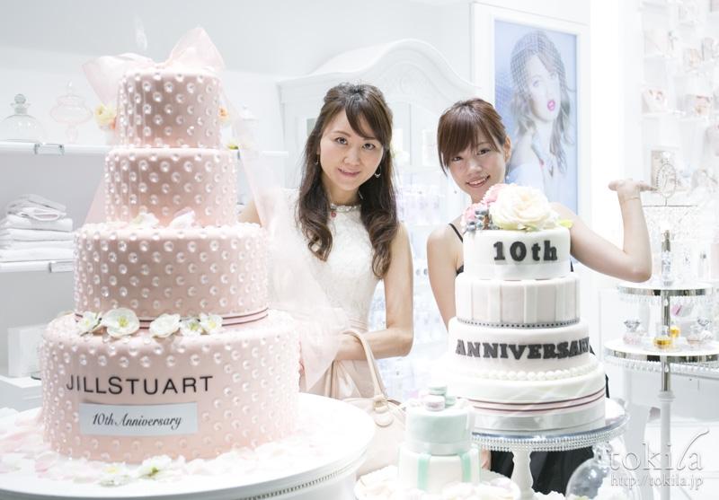 JILL STUART Beauty & Partyバースデーケーキ3