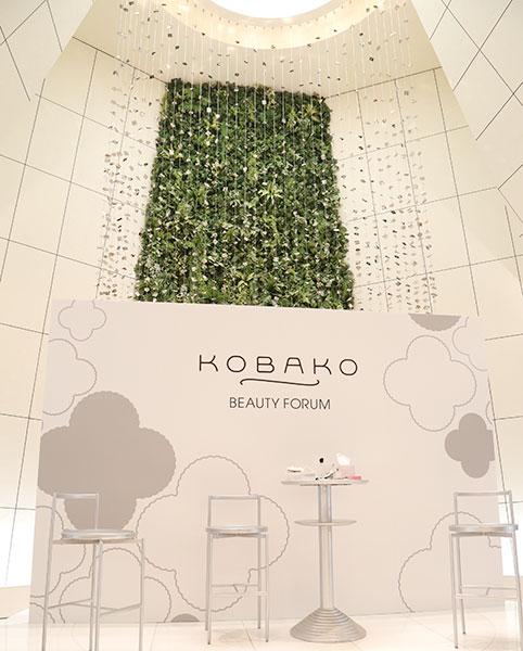 KOBAKOの新メイクアップブラシの製品発表会1