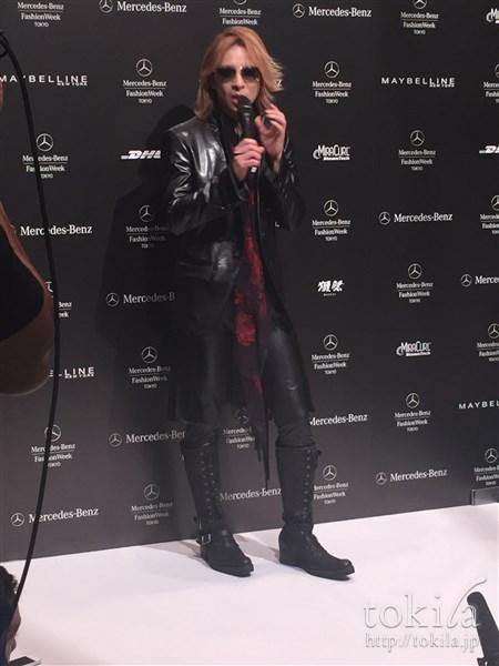 ファッション・ウィーク東京2015 メイベリンヘアメイクヨシキモノコレクションYOSHIKIインタビュー1