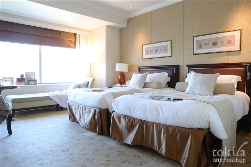 横浜ロイヤルパークホテル×SABONコラボレーション宿泊プランデラックスツイン全体写真