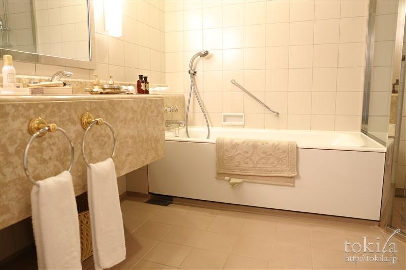 横浜ロイヤルパークホテル×SABONコラボレーション宿泊プランデラックスナイトバスルーム1