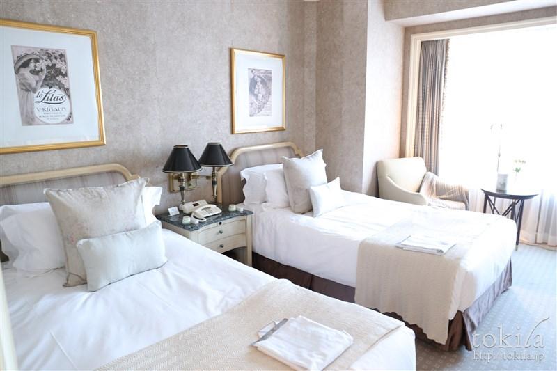 横浜ロイヤルパークホテル×SABONコラボレーション宿泊プランジュニアスイートベットルーム1