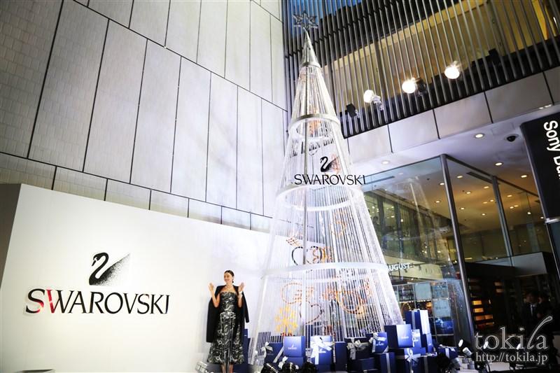スワロフスキー クリスマス点灯式 ミランダ・カー3