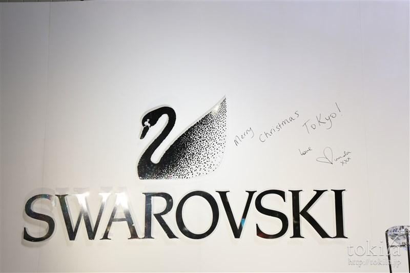 スワロフスキー クリスマス点灯式 ミランダ・カー5
