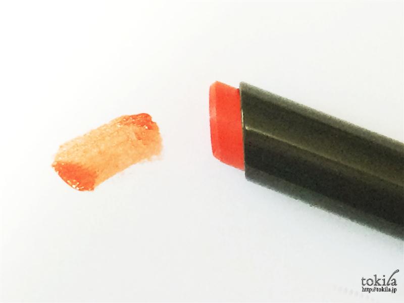 2016年春新色 ジバンシイ ルージュ・アンテルディ・テンプテーション No.08 マグネティック・オレンジ