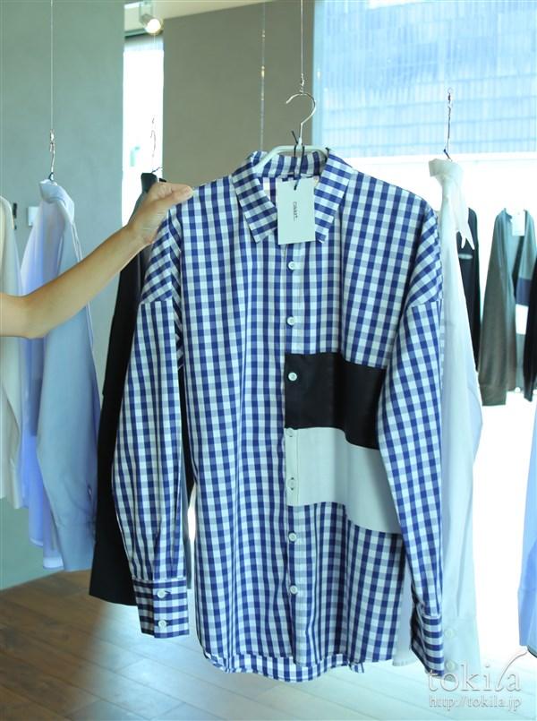 caart2016-17秋冬展示会 2color panel shirt