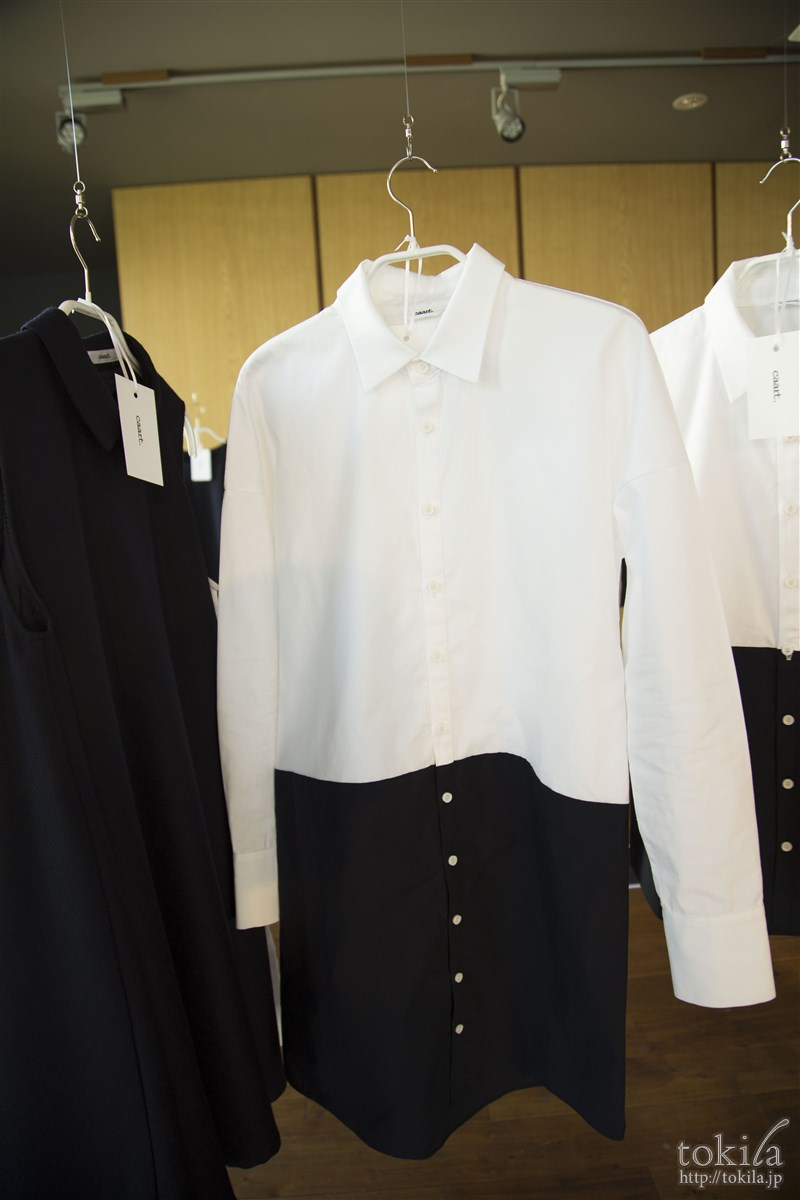 caart2016-17秋冬展示会 bi-color shirs dress
