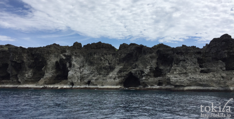 与那国島 馬鼻崎 崖