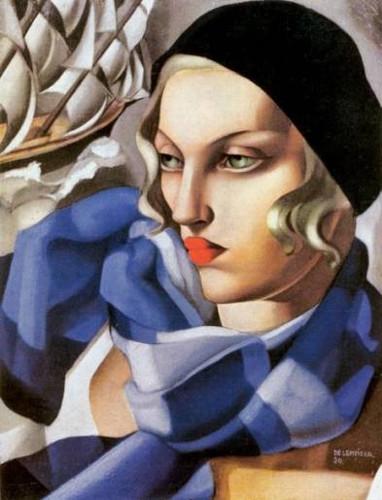 クレ・ド・ポー ボーテ 2016年秋新色 タマラ・ドレンピッカ 自画像 1929年