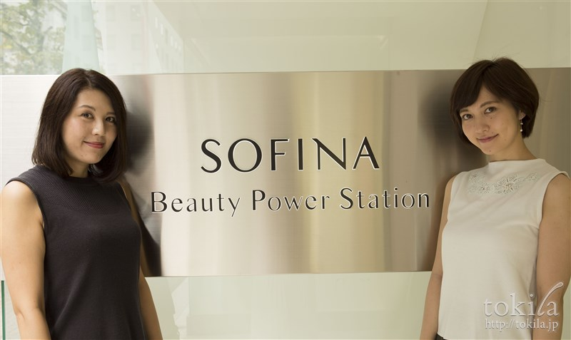 SOFINA Beauty Power Station 参加してくれたtokilaメンバー 内山加苗 飯島しずか