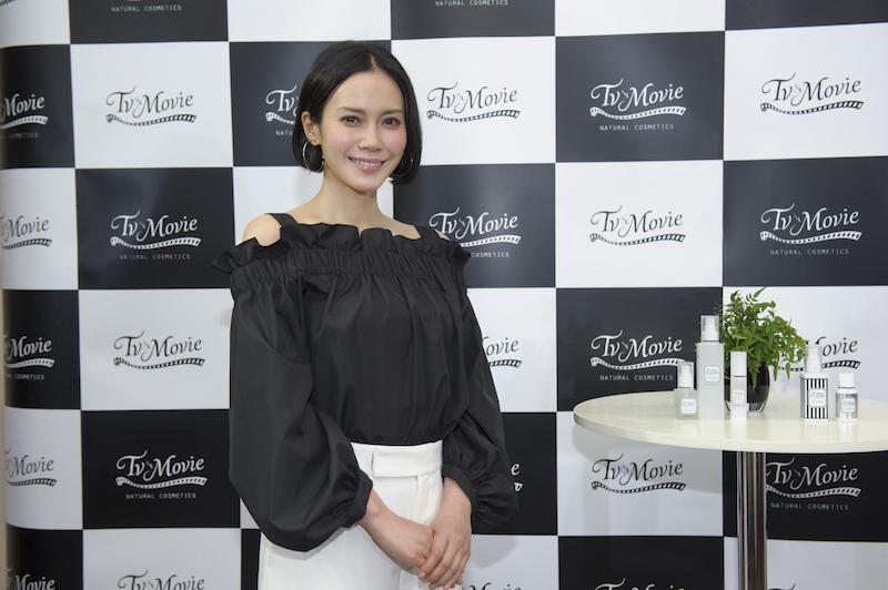TV&MOVIE ブランドミューズの中谷美紀さん