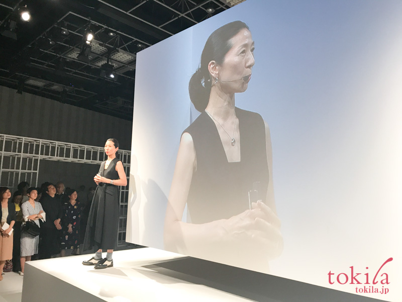 rmk2017aw kaoriさんの登場