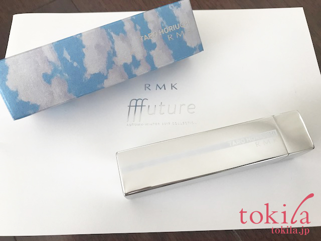 rmk2017aw フューチャーアイシャドウパレットのパッケージと箱