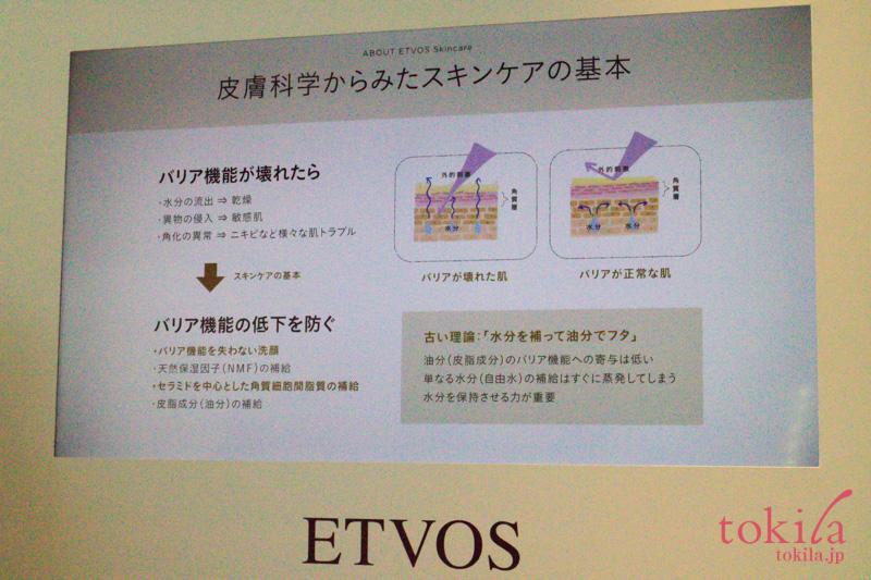エトヴォス2017aw発表会高岡氏の説明スライド画像1