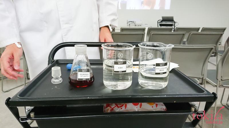 デミコスメティクス フローディア 発表会バルネイドシステムについての実験画像1
