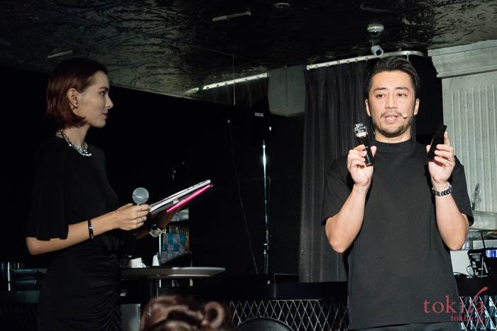 KATE THE BASE ZERO MIRROR MIRROR PARTY ヘアメイクアップアーティストのkubokiさん登場