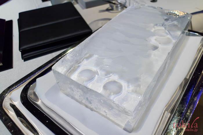 MDNA SKIN オニキスブラックによって溶けた氷