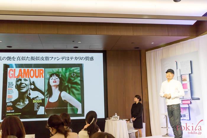 キッカのブランドクリエイター吉川さんが2018SSについてのお話を