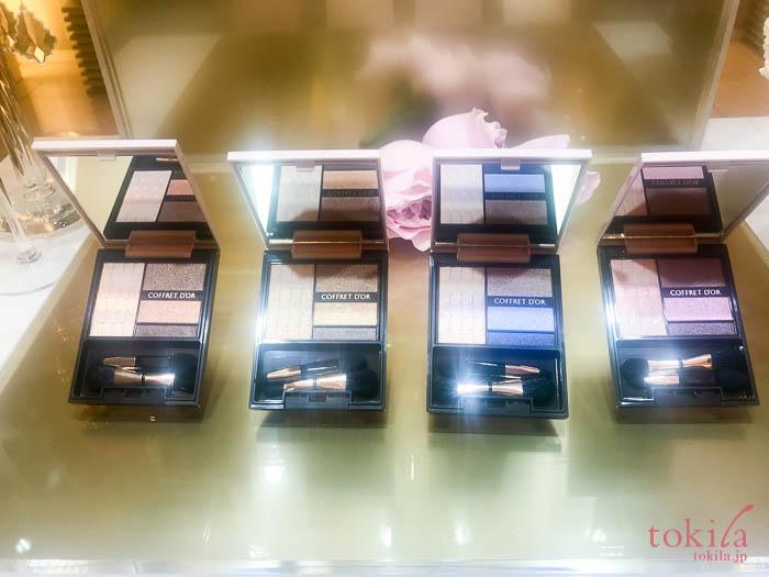 カネボウ化粧品 コフレドール ヌーディインプレッション アイズ 4色 コーラルブラウン、ゴールドブラウン、ブルーベージュ、ピンクベージュ