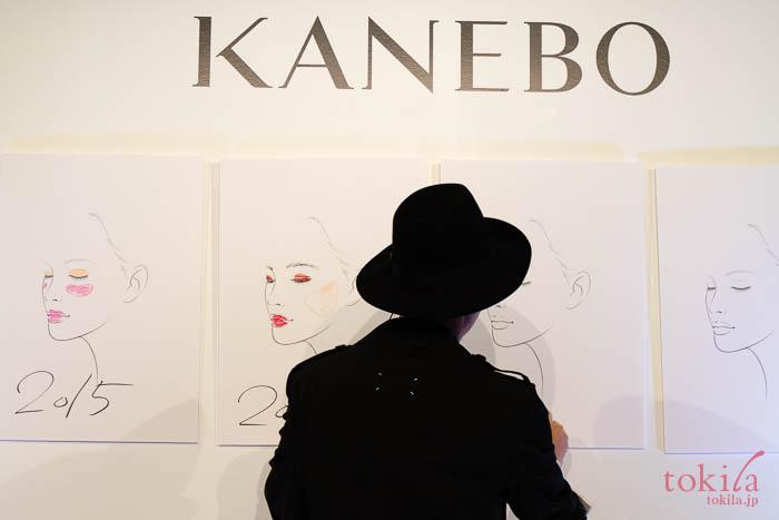 KANEBO 2018春夏 新商品発表会メイクの流行を表したイラスト