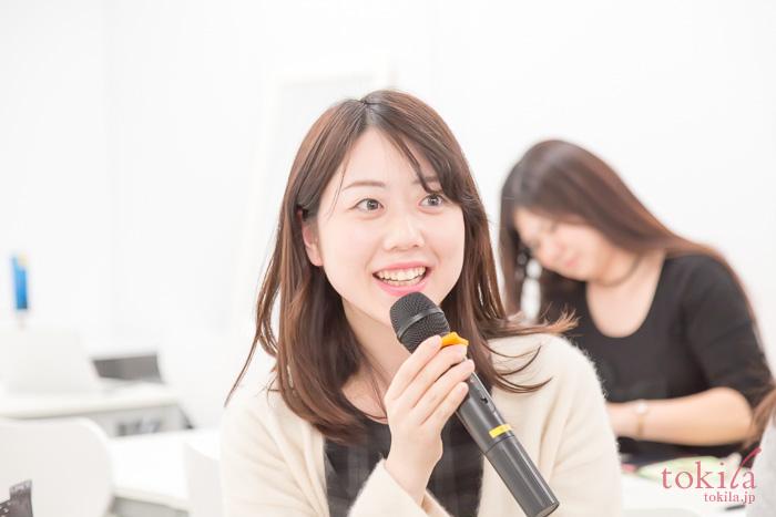 濱田文恵さんに質問をするtokilaメンバー