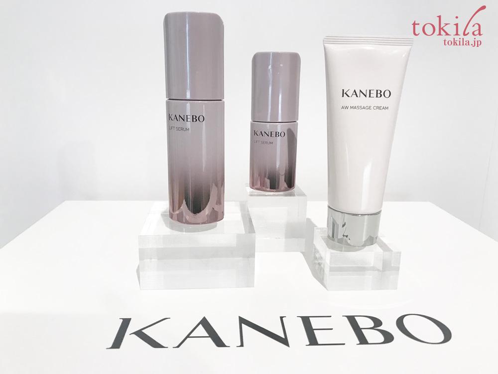 KANEBO2017春-ブルームオンセラムを手で試した画像