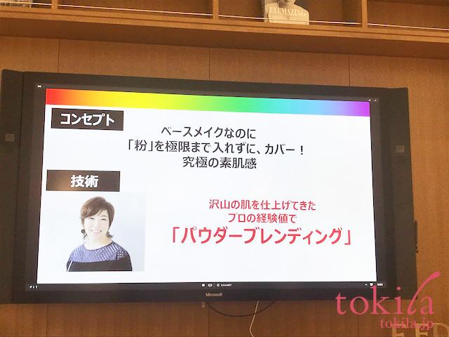 PLAYLIST 開発者の鎌田さんのスライド画像