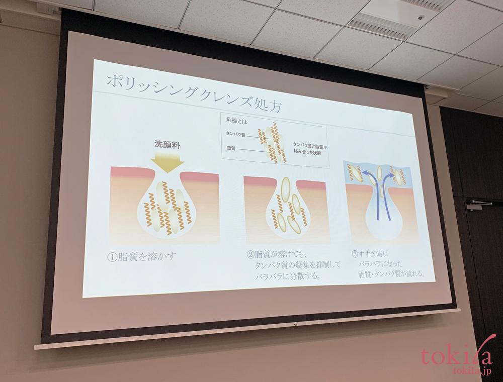 ルナソル 2019ss スムージングジェルウォッシュ開発説明スライド画像3