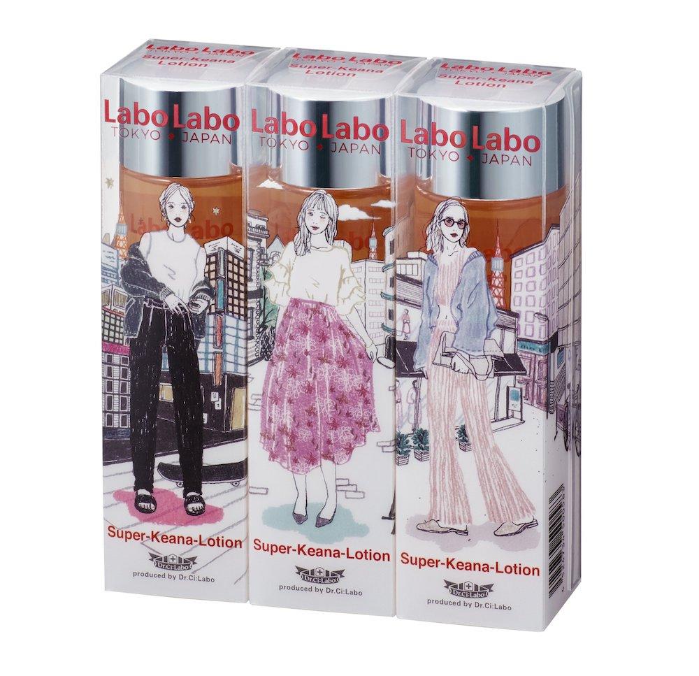 LaboLabo Super-Keana Lotion日本限定パッケージ3本セット