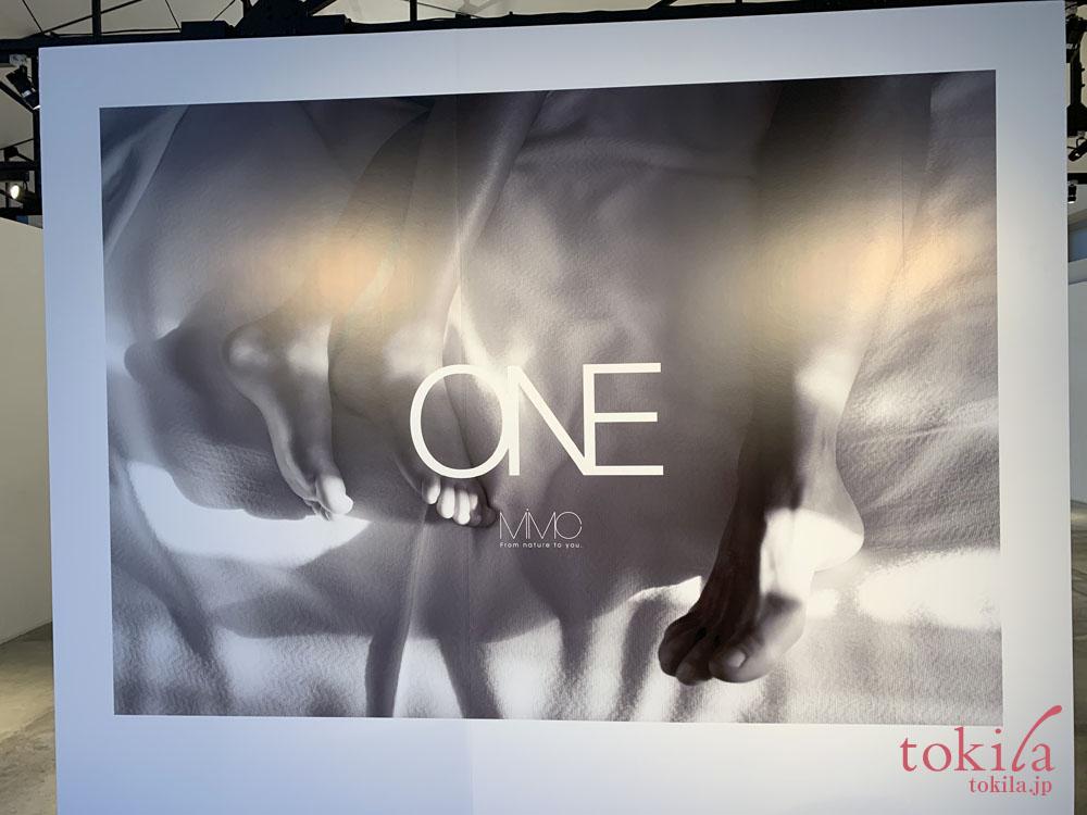 mimc ONE新商品発表会イメージビジュアル