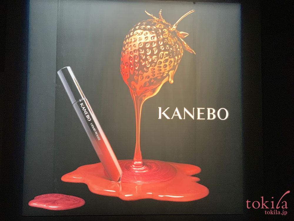 KANEBO 2019秋冬 いちごとメタルを掛け合わせたイメージビジュアル