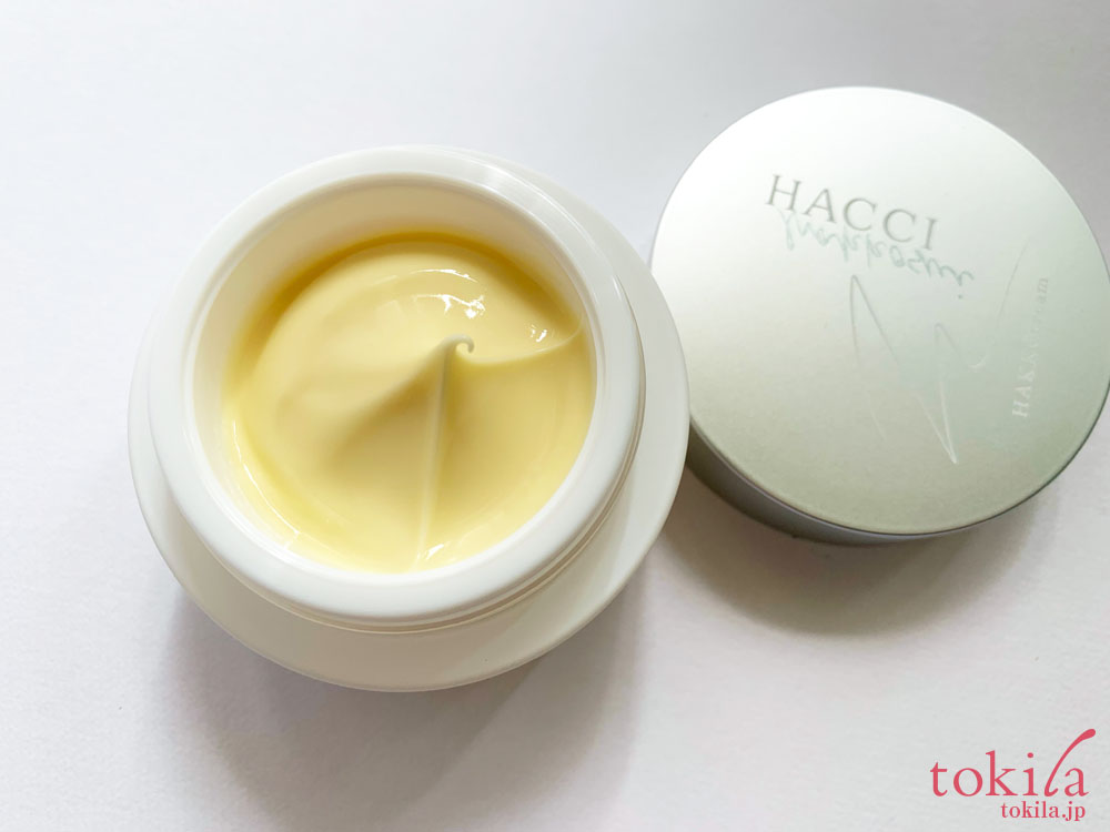 HACCHI 発酵液クリームの中身