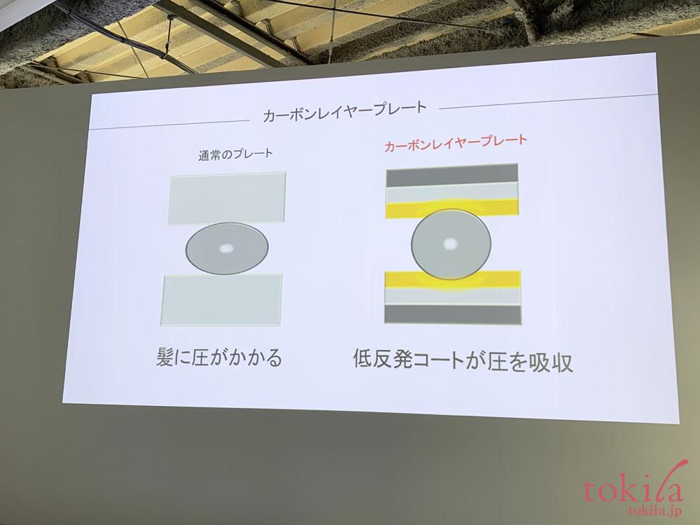リファビューテック ストレートアイロンは低反発コートスライド画像