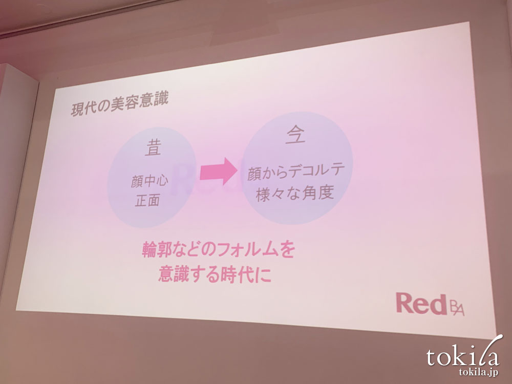 red b.a発表会 現代の美容意識