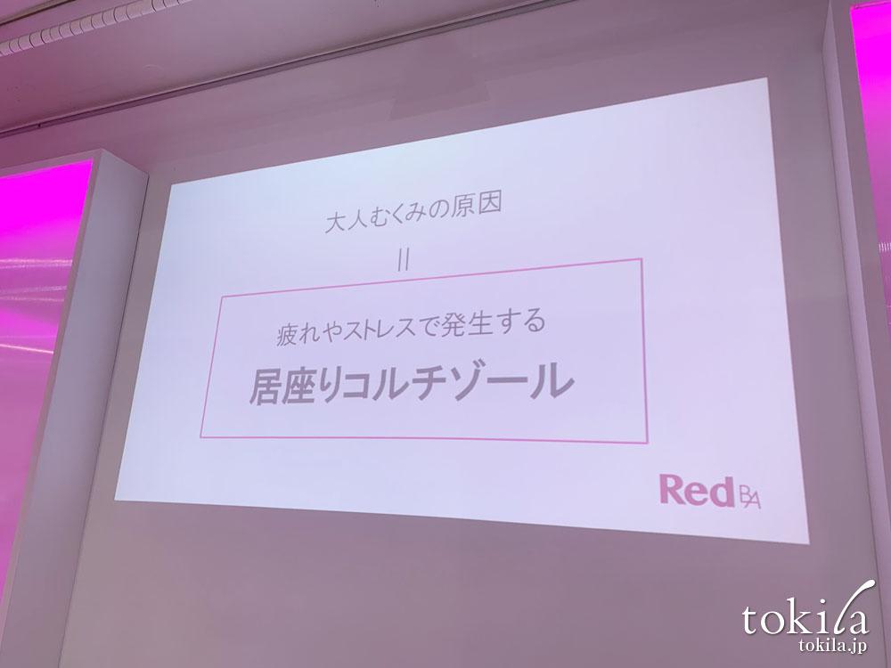 red b.a発表会 居座りコルチゾールのスライド画像