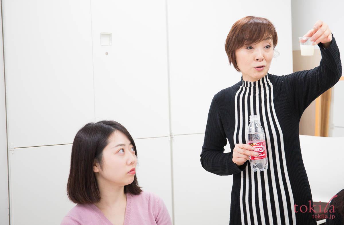 tokilaメンバー参加型キャラバン日記 リポカプセルビタミンcの試飲2