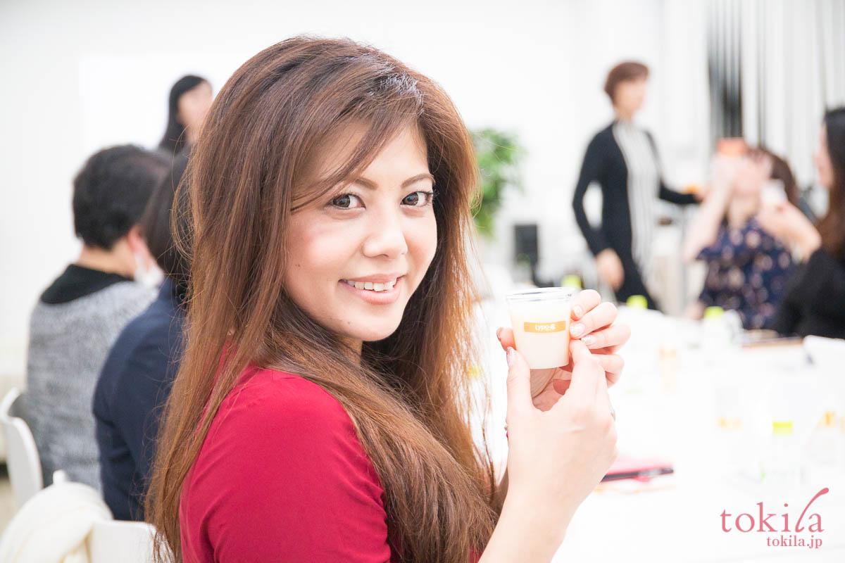 tokilaメンバー参加型キャラバン日記 リポカプセルビタミンcの試飲3