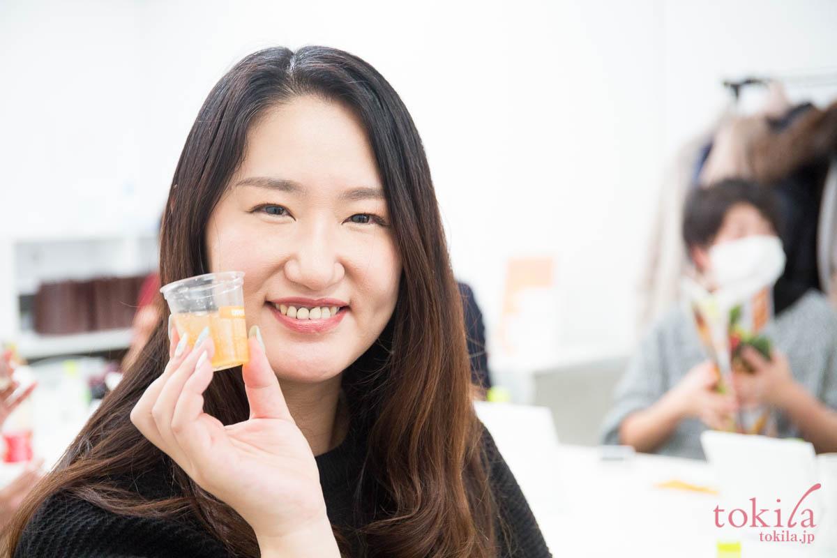 tokilaメンバー参加型キャラバン日記 リポカプセルビタミンcの試飲4