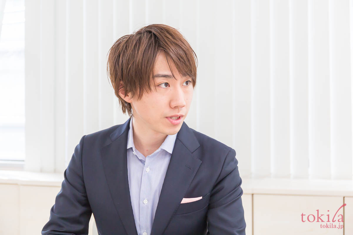 キャラバン日記 リノ クロノシャルム開発者の田中さん