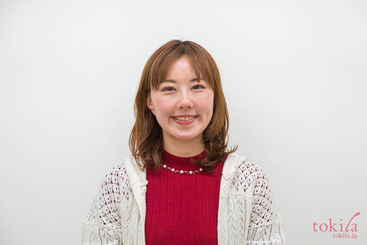 キャラバン日記パート2 リノ クロノシャルディ田中さんによるスタイリングデモ 浅葱さんbefore